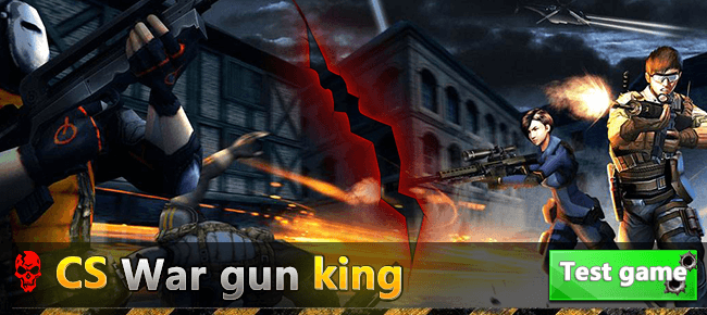 CS War gun king FPS project