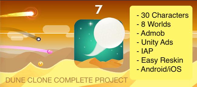 Buy Dune clone / Tiny Wings App source code - Sell My App