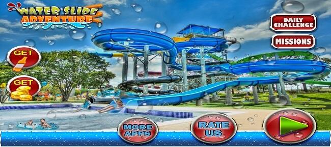 Water Slide Adventure : Water Park 2019