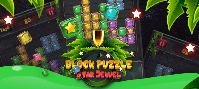Block Puzzle Star Jewel – Unity 2018 – High quality project – Excellent effect
