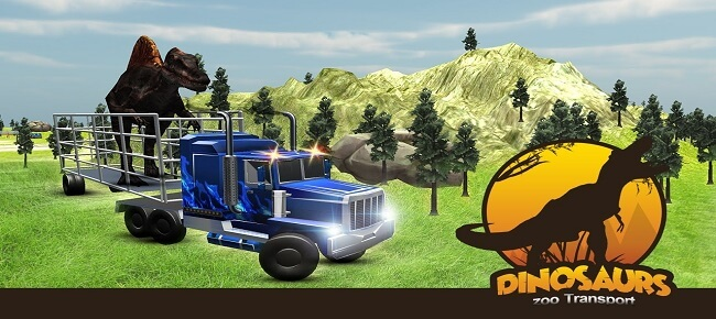 Dino Truck Transport Simulator