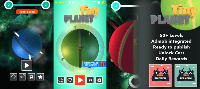 Buy Tiny Planets App source code - Sell My App