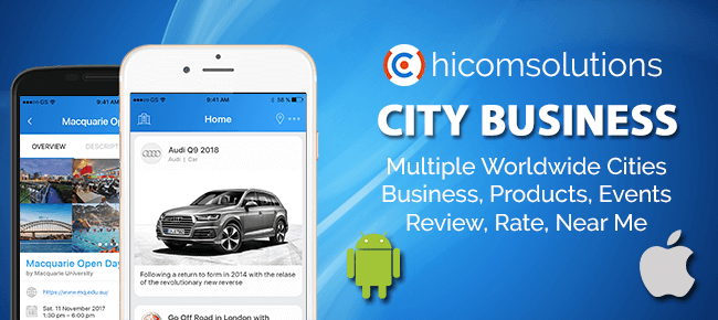 City Business Information Android App