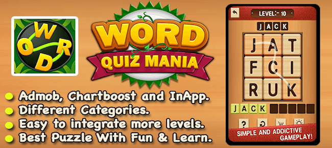 Word Puzzle Mania – Best Word Trivia Puzzle Game
