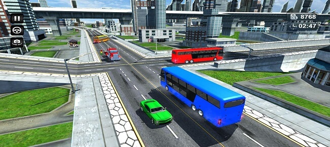 City Coach Bus Simulator : Modern Bus Driver