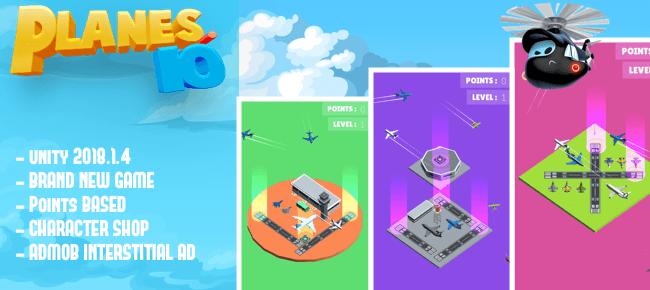 Planes.io |Rescue Plan – Flight Control | Air Traffic Controller