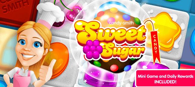 Sweet Sugar Match 3 + Mini Game