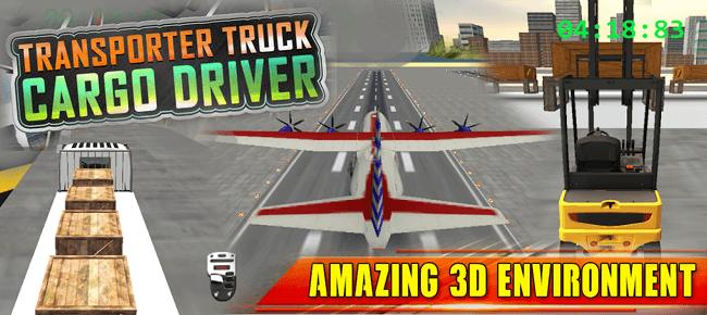Airport Cargo Driving Simulator