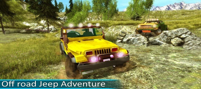 Offroad Jeep Driving & Racing : Up Hill Mountain Drive