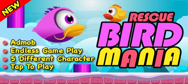 Rescue Flappy Bird Mania