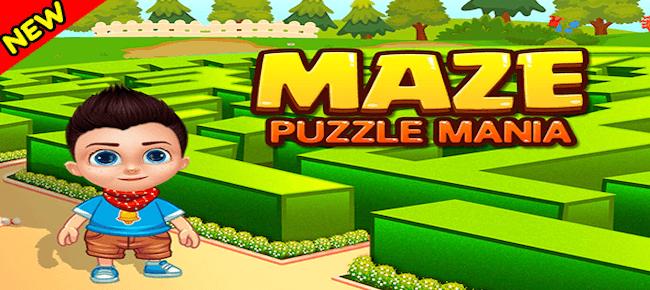 Maze Puzzle Mania + Game For Kids