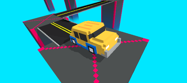 Unity Game Template – Zigzag Taxi