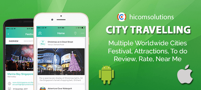 City Travelling Information – iOS App