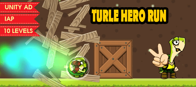 TURTLE HERO RUN – COMPLETE GAME