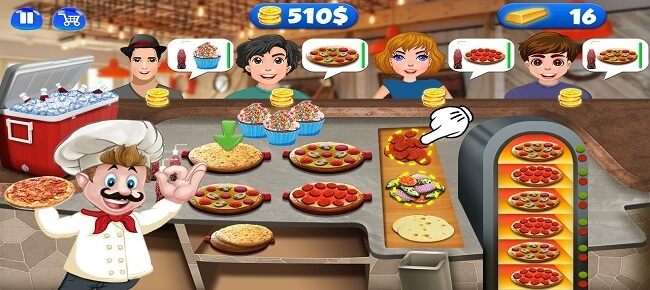 Street Food Cooking Game – Master Chef