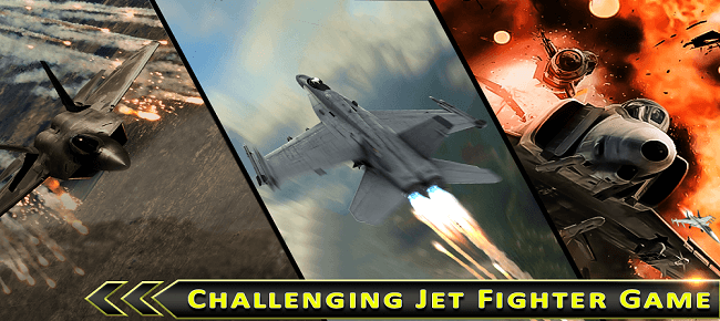 Jet Fighter Air Attack 3D : US Air Strike Force