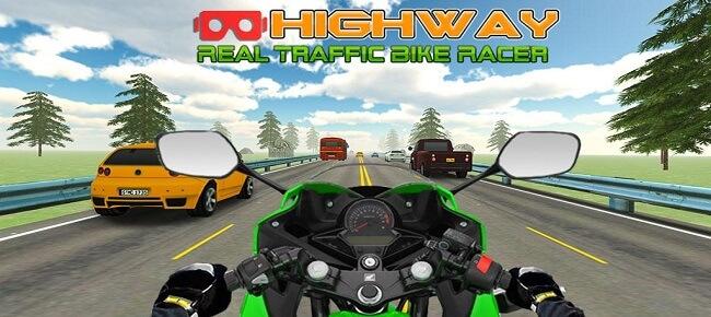 Highway Bike Rider : Traffic Racer