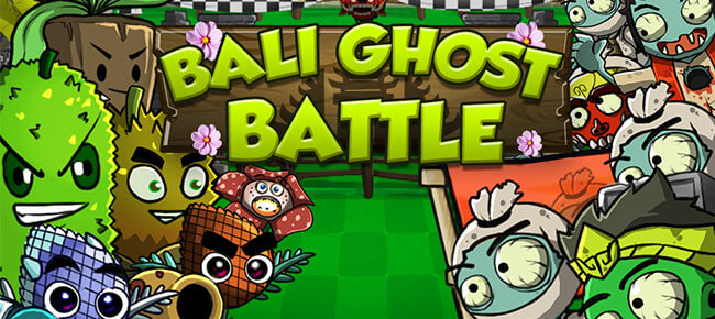Bali Ghost Battle – Plant Versus Zombie