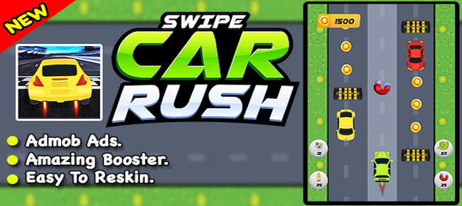 Swipe Car Rush + Ultimate Racing + Ready For Publish + Android