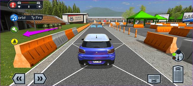 Crazy Cartoon Car Stunt 3D