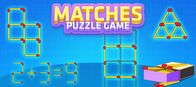 Matches Puzzle Game – Complete Unity Project