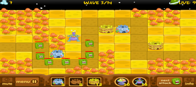 Tower Defence 2D with 15 Levels