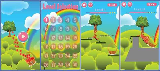 Apple Drop Puzzle Game
