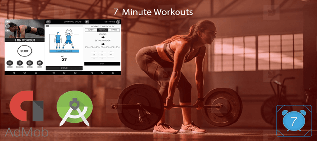 7 Minutes Workout – Android Source Code