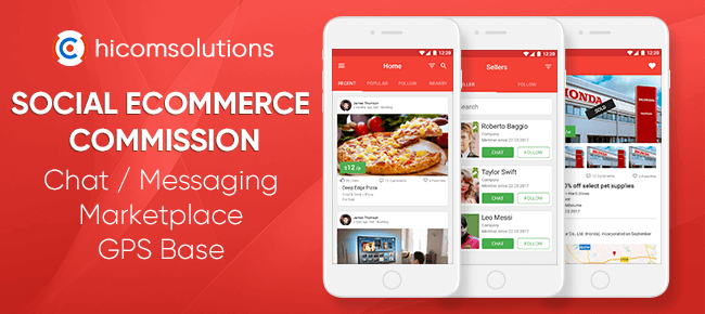 Social eCommerce Marketplace With Commission Model – iOS