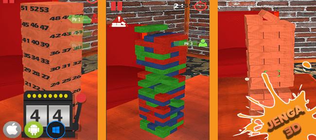 Jenga 3D Unity Complete Project