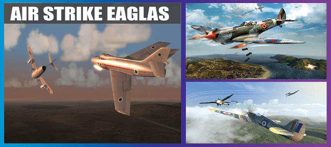 Air Strike World War 2 : Fighters Sky Combat Attack