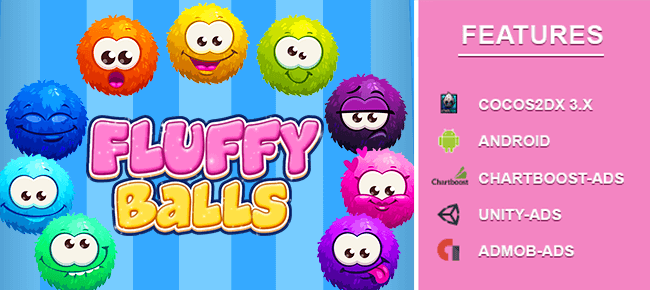 Fluffy Ball -Stack Puzzle Game [Android]