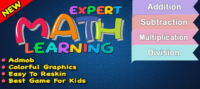 Expert Maths Learning + Game For Android + Ready For Publish
