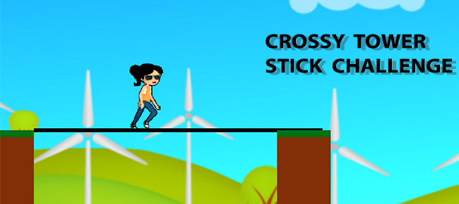 Crossy Tower Stick Challenge