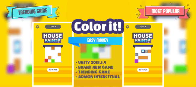 Color it!    Trending Game
