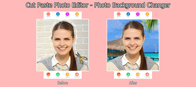 Cut Paste Photo Editor – Photo Background Changer