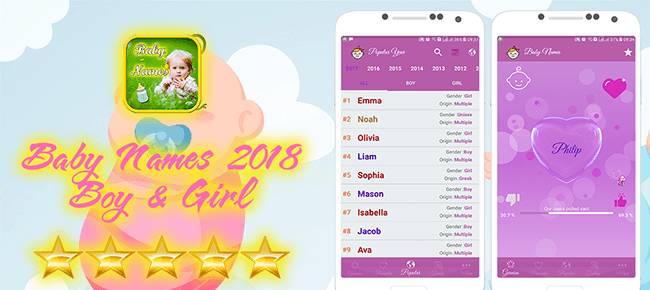 Baby Names – Boy and Girl Android