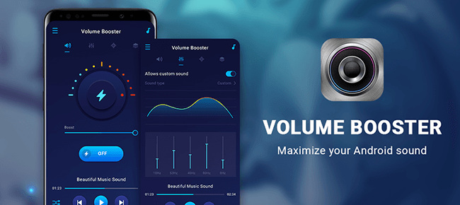 Volume Booster – Music Equalizer Android