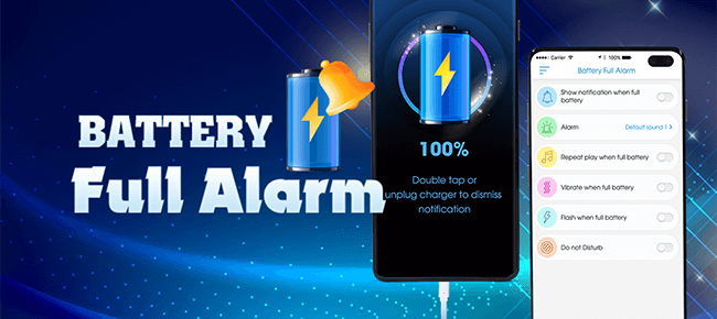 Battery Full Alarm for Android