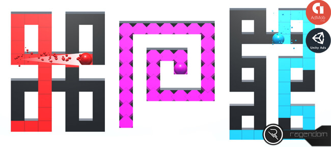 Maze Painter – Complete Unity Game
