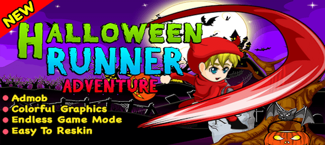 Halloween Runner Adventure + Ready For Publish In Android