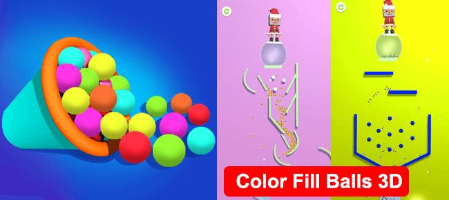 Balls Fill 3D – Trending Hyper Casual Game