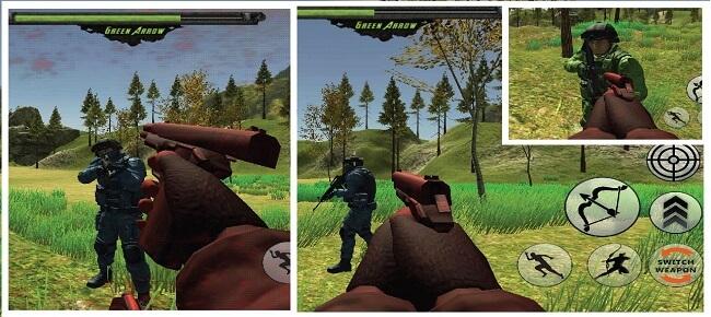 Arrow Hero Jungle Attack : Commando Jungle Battle