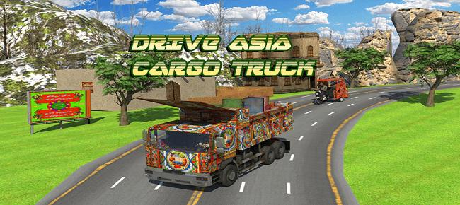 Asian Cargo Truck Transport