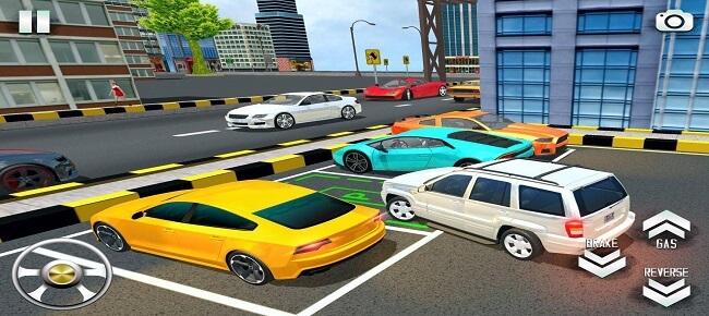 Modern Jeep City Parking Game