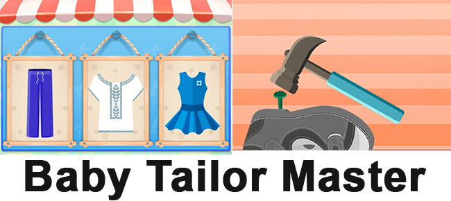 Baby Tailor and Shoes maker – Fun Game