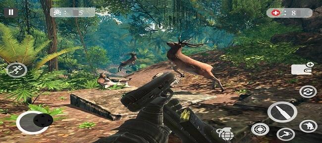 Deer Sniper Hunting Safari Games : Jungle Hunt 2k19
