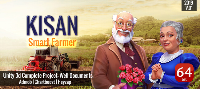 Kisan Smart Farmer 2018 Upgrade New Version 64bit Supported