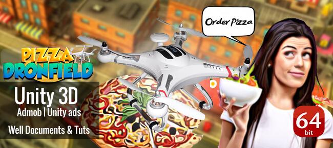 Pizza Dronfield Delivery Simulator 64bit AAB+App Bundle