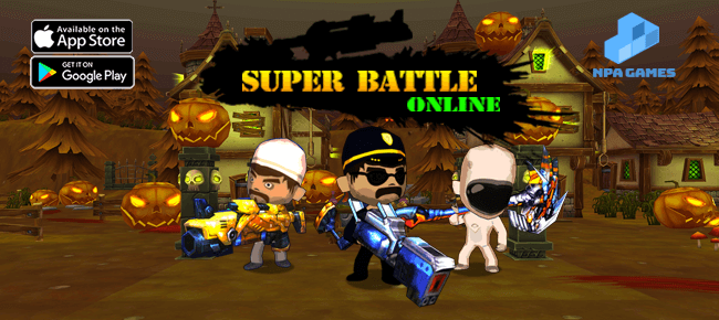 Super Battle Online – Multiplayer Online Battle Royale Game